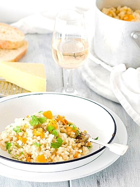 Basic Risotto with Pumpkin or Butternut