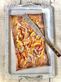 Orange, Almond and Summer Fruit Tart