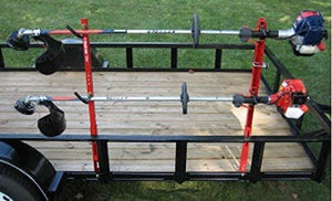 2 Trimmer Rack Trailer Complete Set