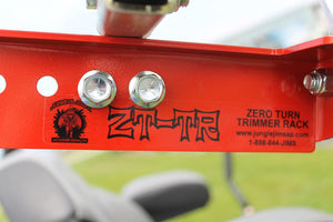 Zero Turn Mower Trimmer Rack