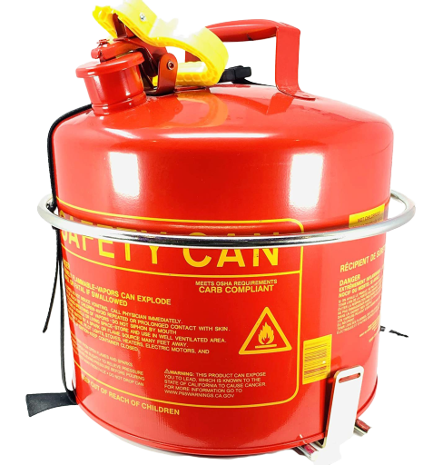 5 Gallon Round Gas Can Holder