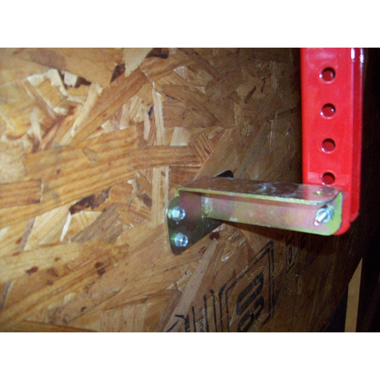 Trimmer Rack Bracket Wall Mount Kit for Enclosed Trailers