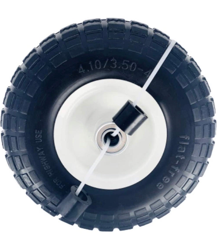 "10"" Flat Free All Purpose Utility Tire"