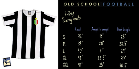 Striped Shirt Sizing Guide