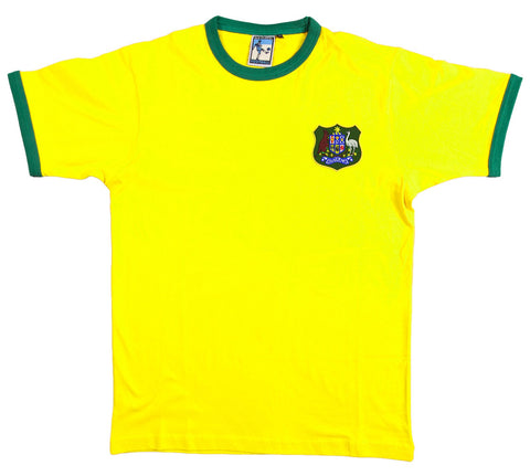 Australia Rugby Retro T Shirt 1970s - Old School Football
