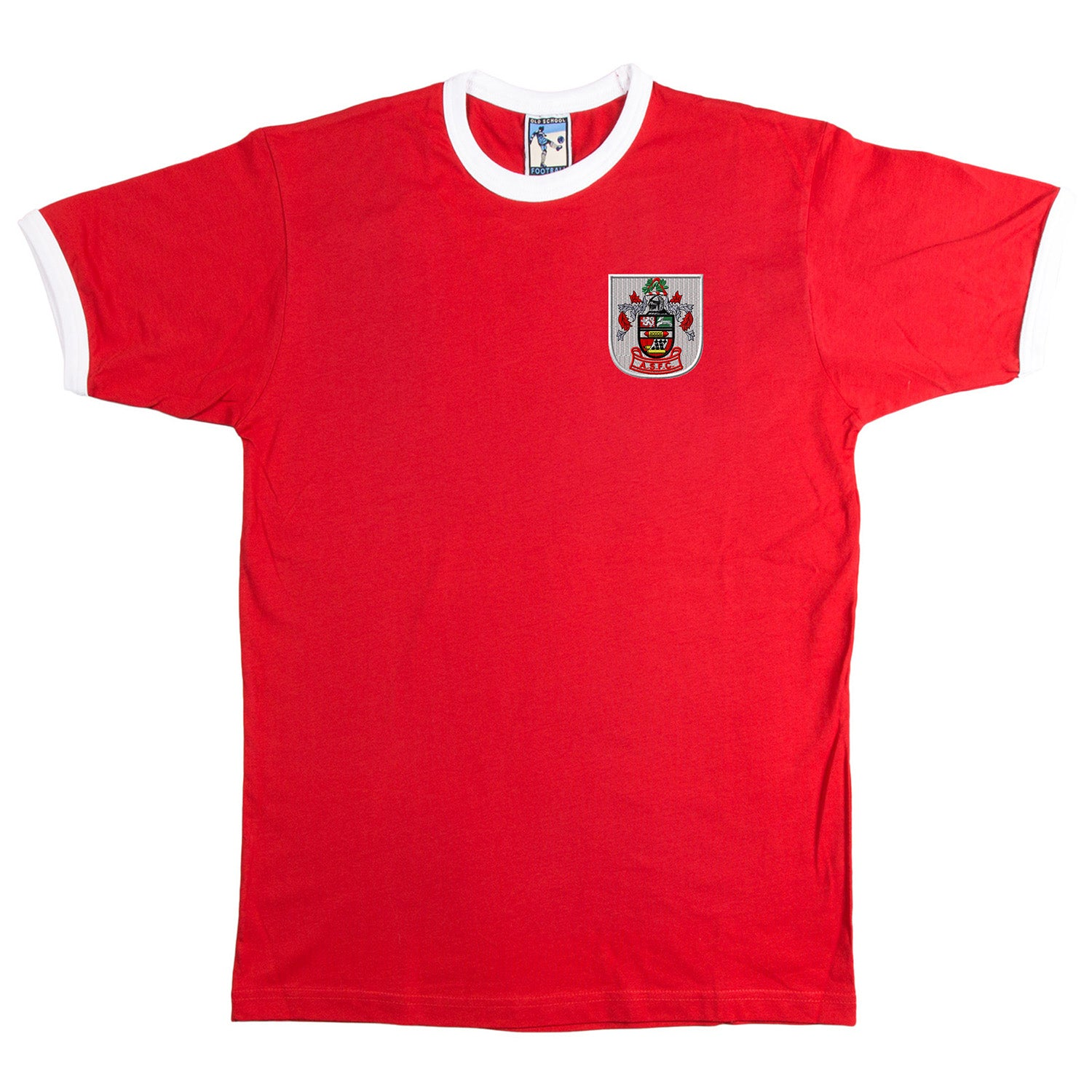 Accrington Stanley Retro Football T Shirt 1950s - T-shirt