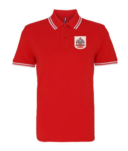 Accrington Stanley Retro Football Iconic Polo 1950s - Polo