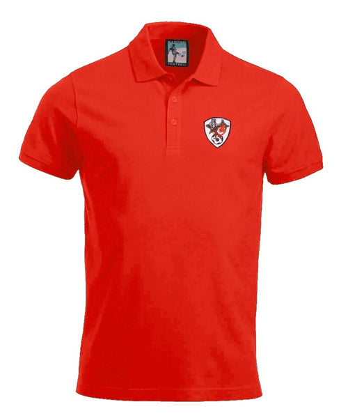 Bristol City Retro Football Polo Shirt 1970s - Polo