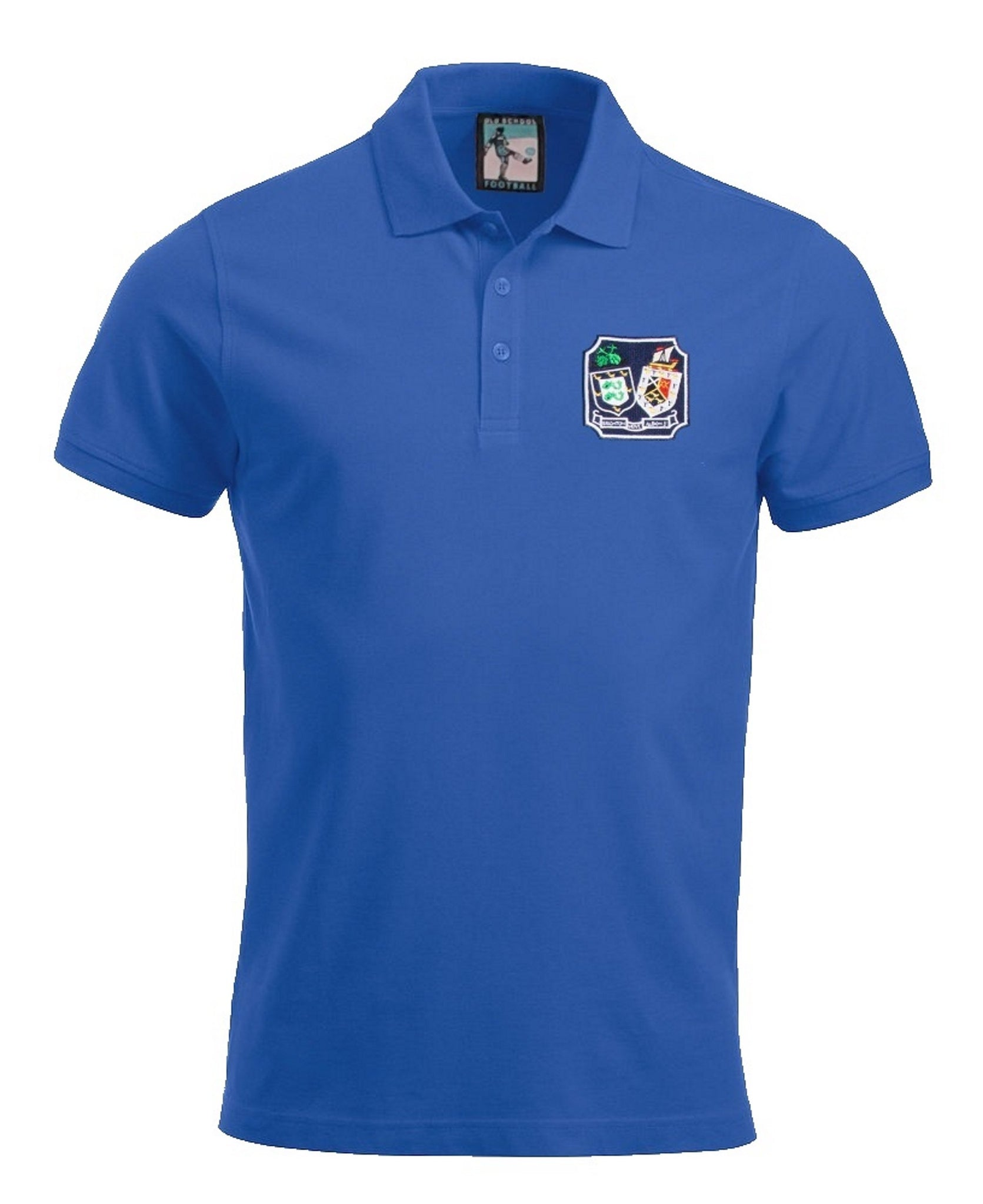 Brighton & Hove Albion Retro 1960s Football Polo Shirt - Polo