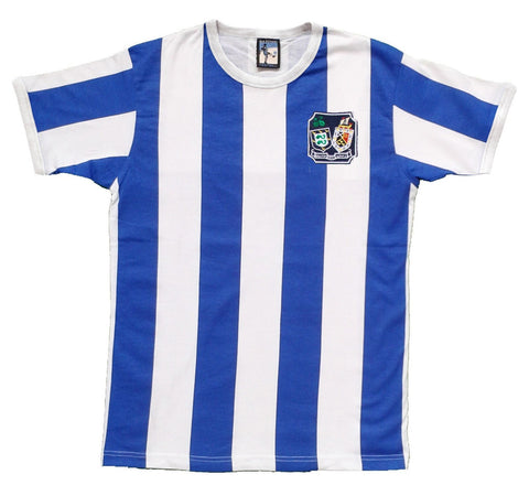 Brighton and Hove Albion Retro Football T Shirt 1948 - 1970 - T-shirt