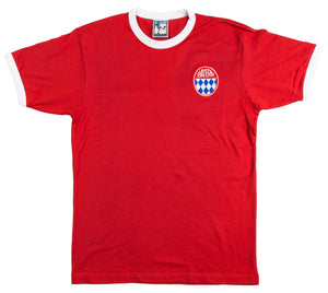 Bayern Munich Retro Football T Shirt 1960s - T-shirt