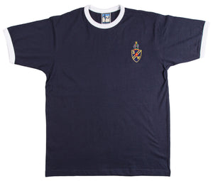 Bolton Wanderers T-Shirt 1950 / 60s Navy Blue - Old School Football