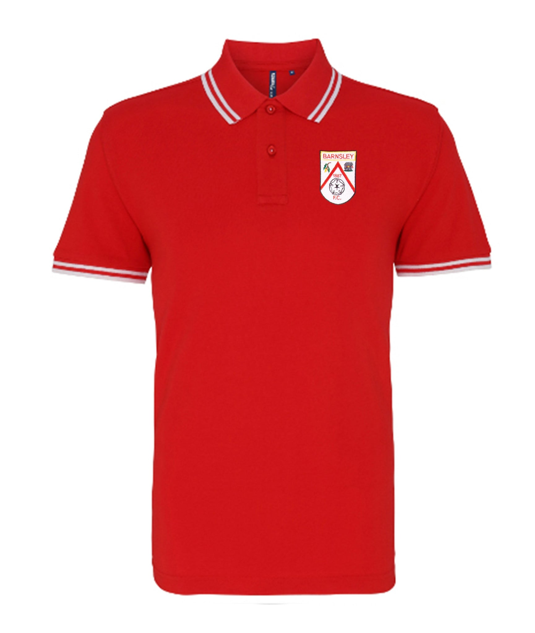 Barnsley Retro Football Iconic Polo Shirt - Polo