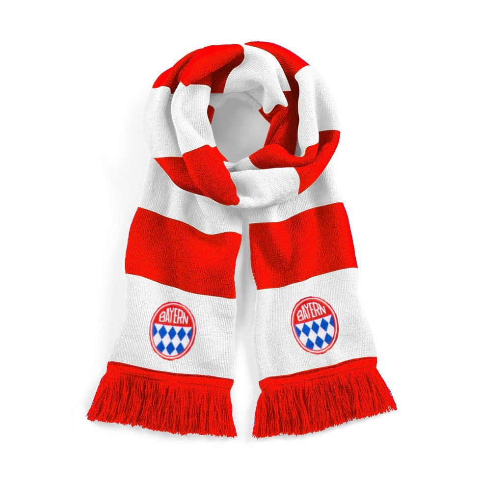 Bayern Munich Retro Football Scarf - Scarf