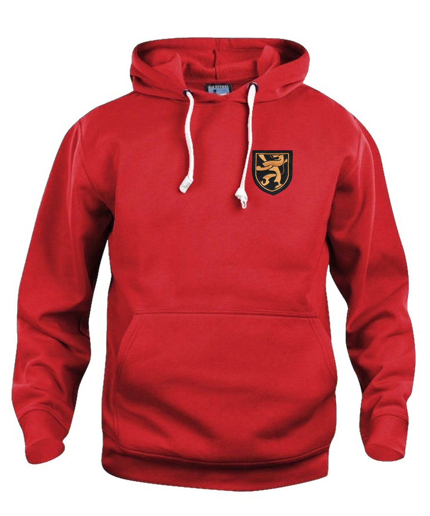 Belgium 1960's Football Hoodie Sizes S-XXXL Embroidered Logo - Old School Football