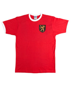 Belgium Retro Football T Shirt 1960s - T-shirt