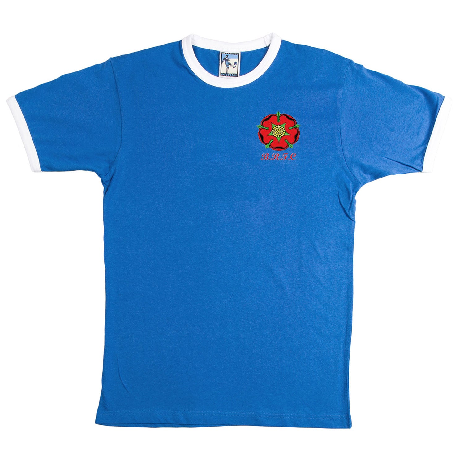 Blackburn Rovers Retro Football T Shirt - T-shirt