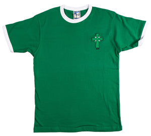 Celtic Retro Football T Shirt 1888 - T-shirt
