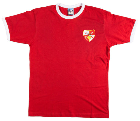Charlton Athletic Retro Football T Shirt 1946 - 1947 - T-shirt