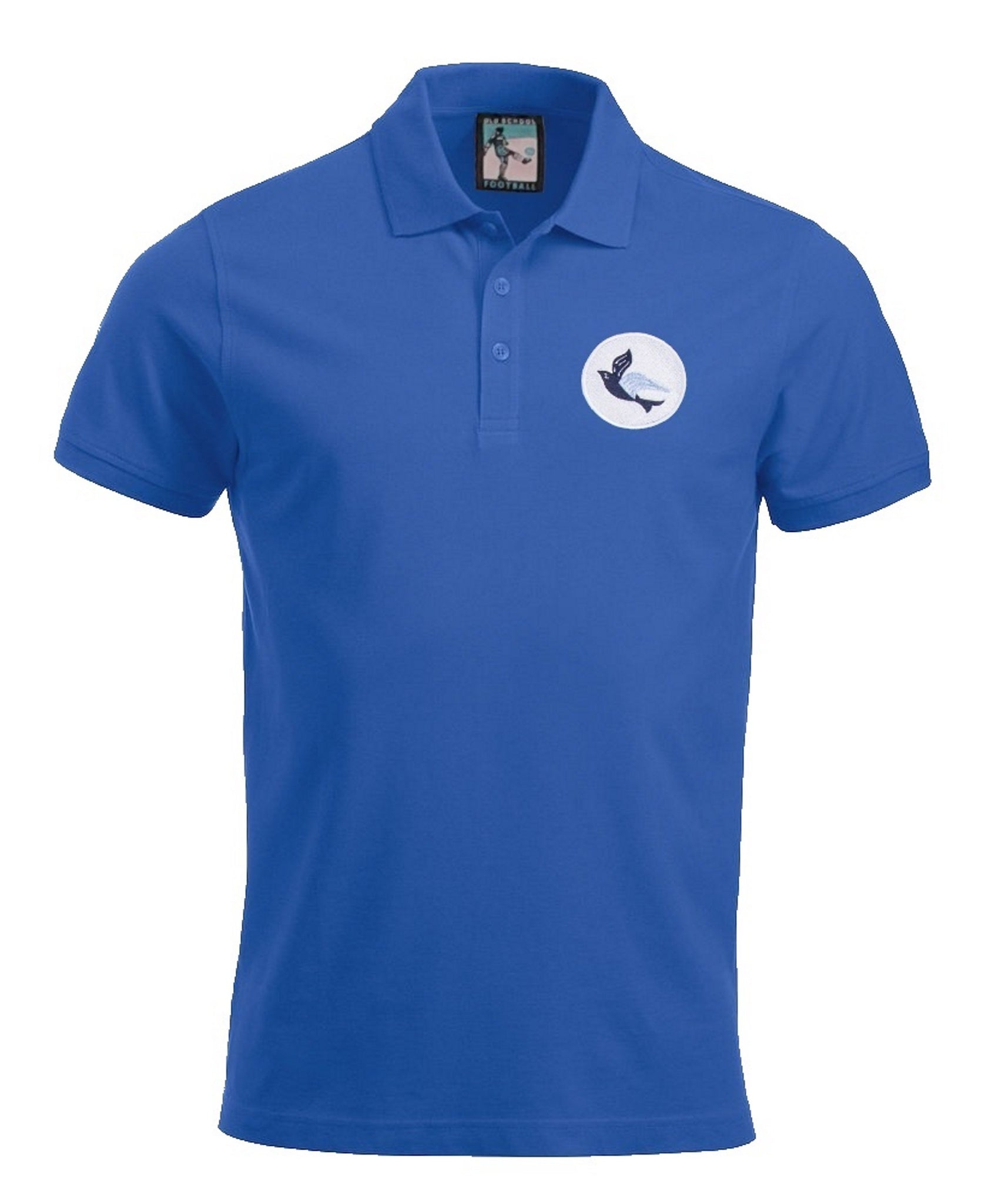 Cardiff City 1960's Polo - Old School Football