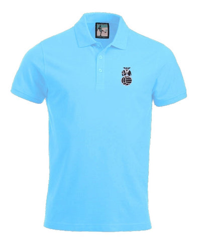 Coventry City Retro Football Polo Shirt 1970s - Polo