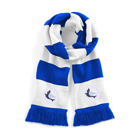 Cardiff City Retro Football Scarf 1960s - Old School Football
