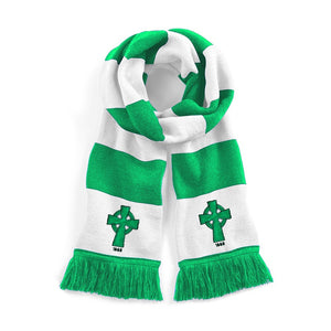 Celtic Retro Football Scarf 1888 - Old School Football
