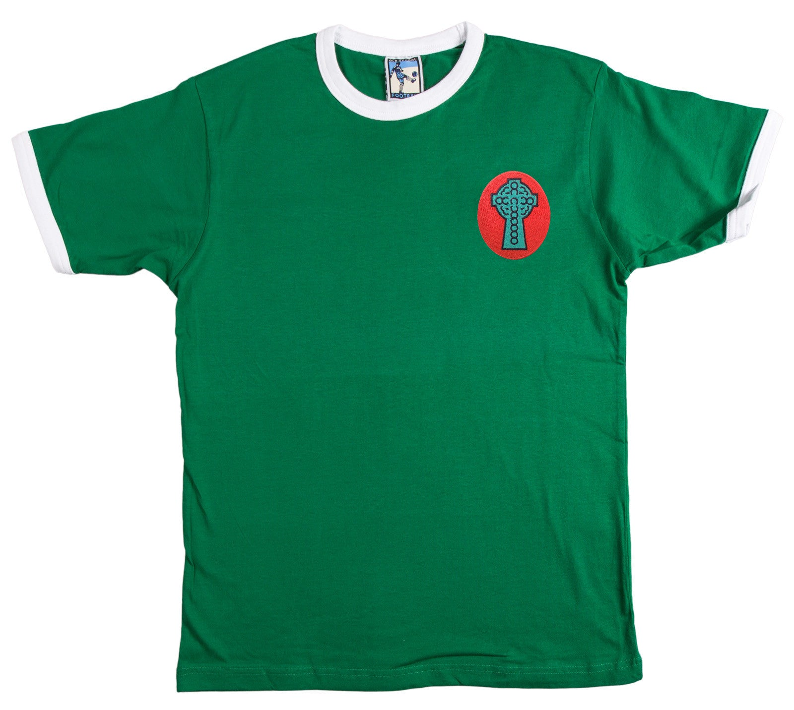 Celtic Retro Football T Shirt 1890 - Old School Football