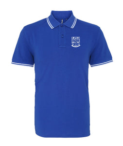 Blue Chelsea Retro Football Iconic Polo Pensioners