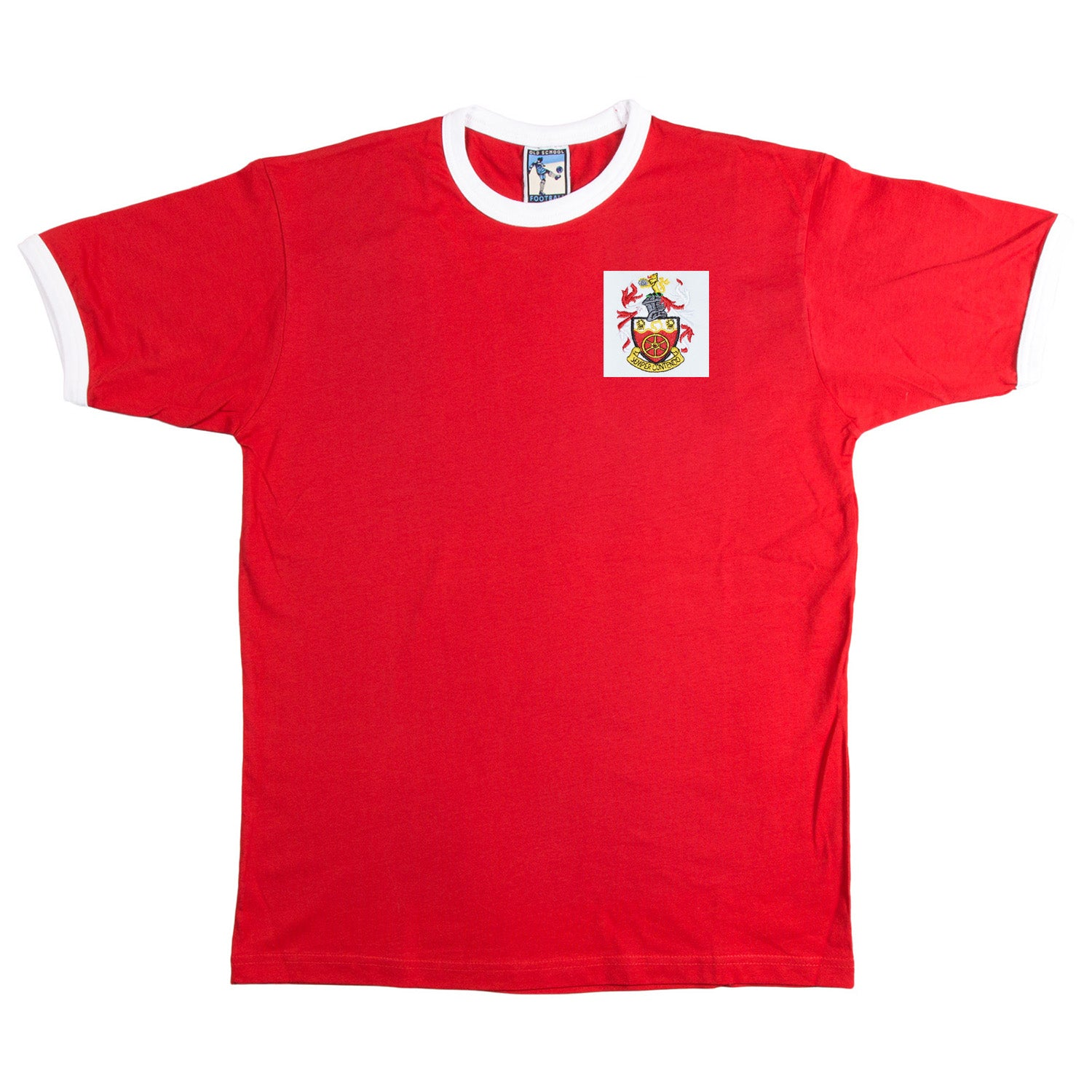 Crewe Alexandra Retro Football T Shirt 1960s - T-shirt