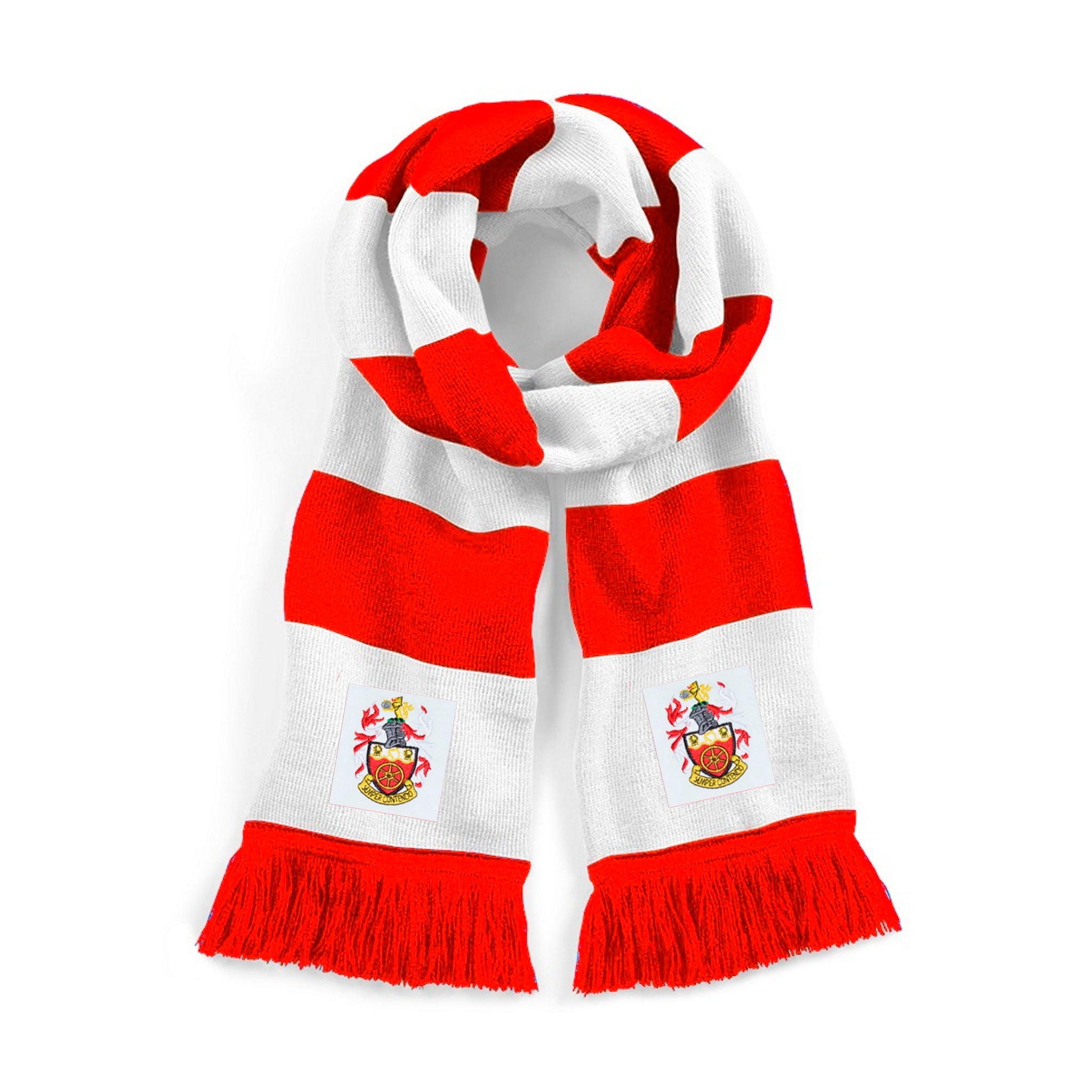 Crewe Alexandra Retro 1960s Traditional Football Scarf - Scarf