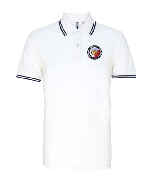 Czechoslovakia National Retro Football Iconic Polo - Polo