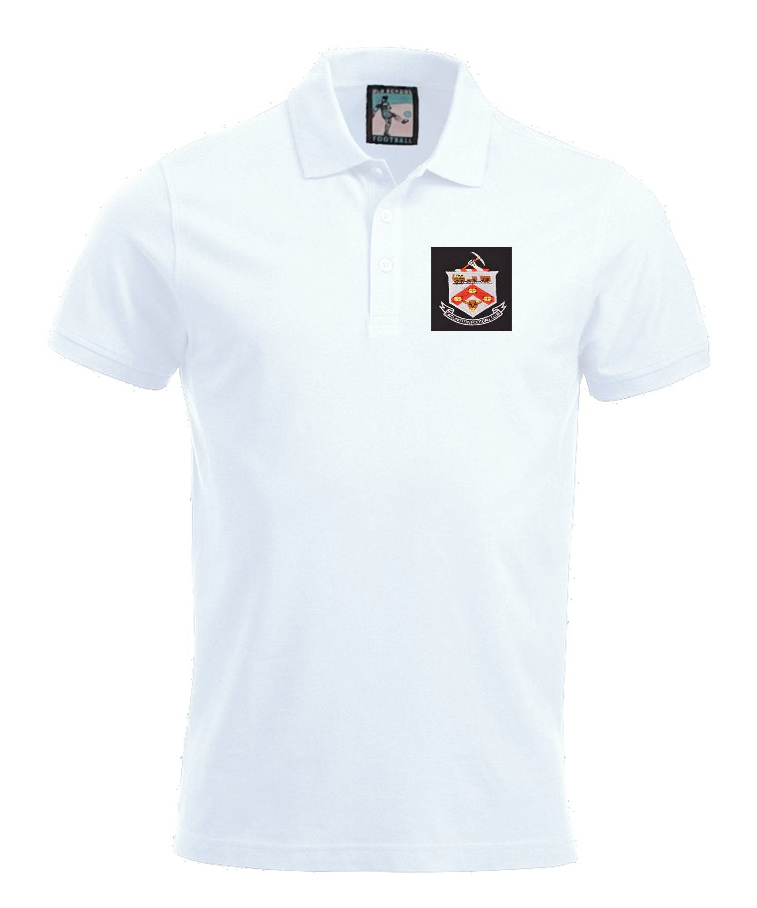 Darlington Retro Football Polo Shirt 1960s - Polo