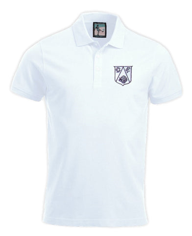 Derby County Retro Football Polo Shirt 1950s - Polo