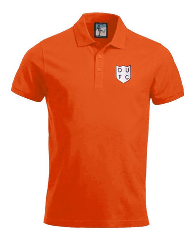 Dundee United Retro Football Polo Shirt 1950s - Polo