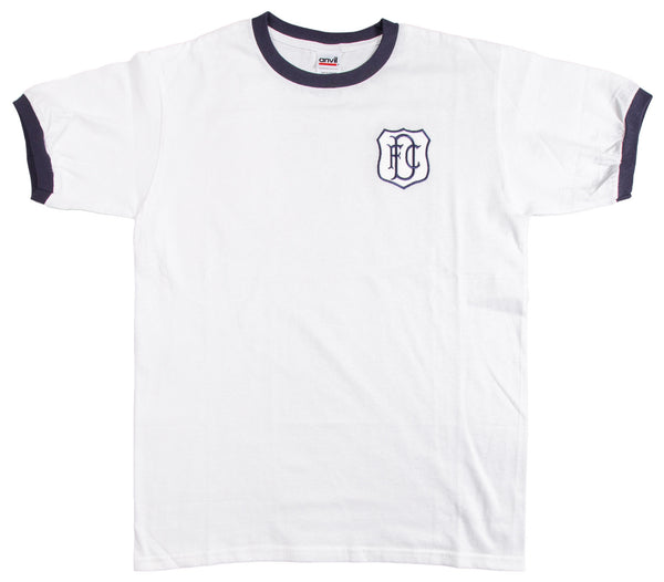 Dundee Retro Football T Shirt 1955 - 1968 - T-shirt