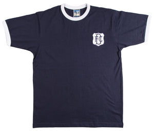 Dundee Retro Football T Shirt 1950s & 1960s - Old School Football
