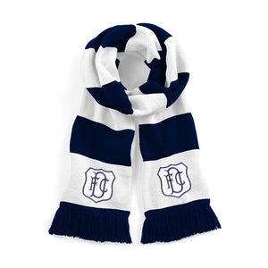 Dundee Retro Football Scarf 1950s - 1960s - Old School Football