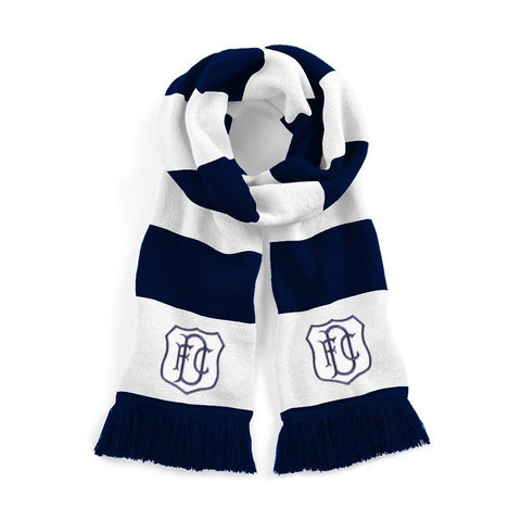 Dundee Retro Football Scarf 1950s - 1960s - Scarf