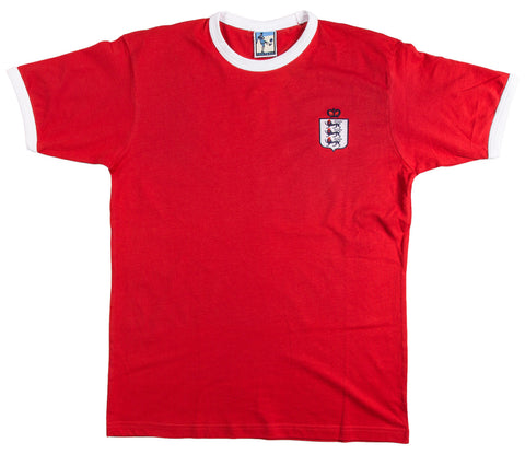 England Retro Football T Shirt 1900 - 1939 - Old School Football