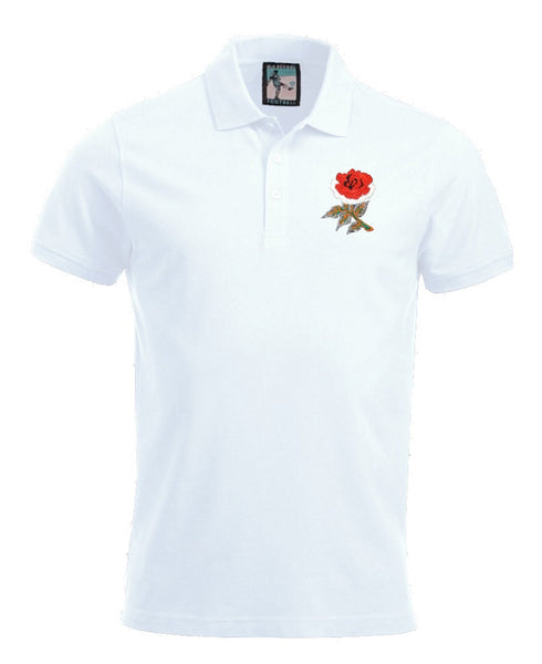 England Rugby Polo - Old School Football