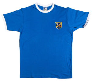Everton Retro Football T Shirt 1886 - Old School Football