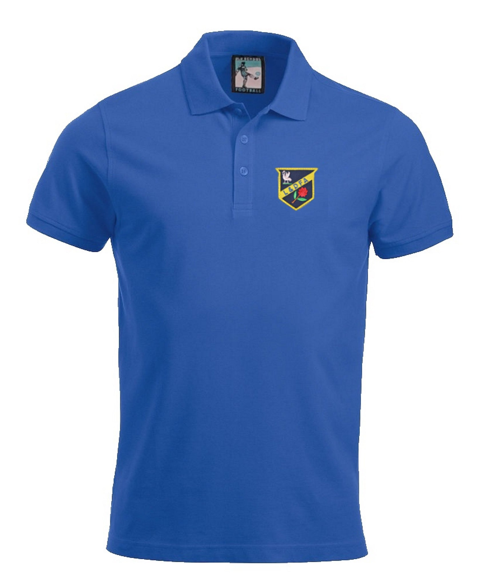 Everton Retro Football Polo Shirt 1886 - Polo