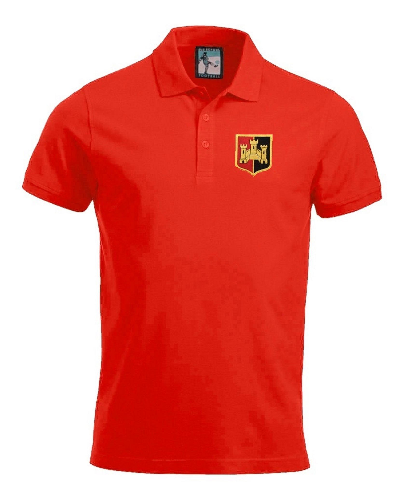 Exeter City Retro Football Polo Shirt 1950s - Polo