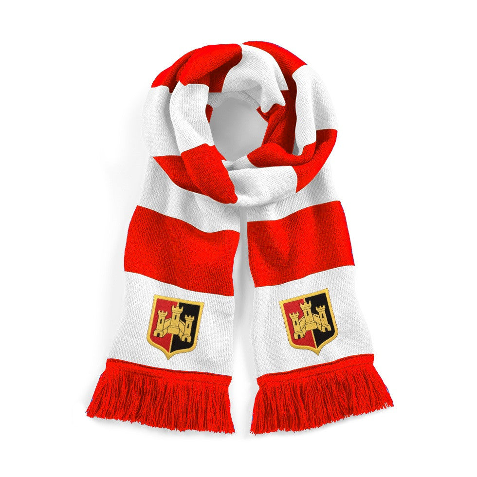 Exeter City Retro 1950s Scarf - Old School Football