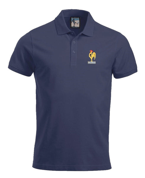France Retro Football Polo Shirt - Polo
