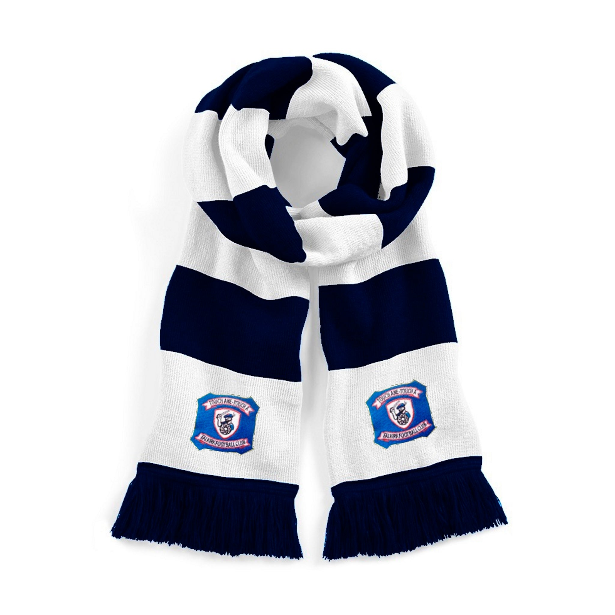 Falkirk Retro Traditional Football Scarf 1940s - Scarf