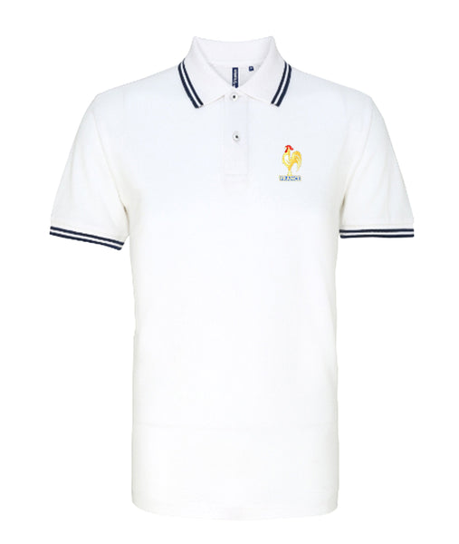 France Retro Football Iconic Polo - Polo