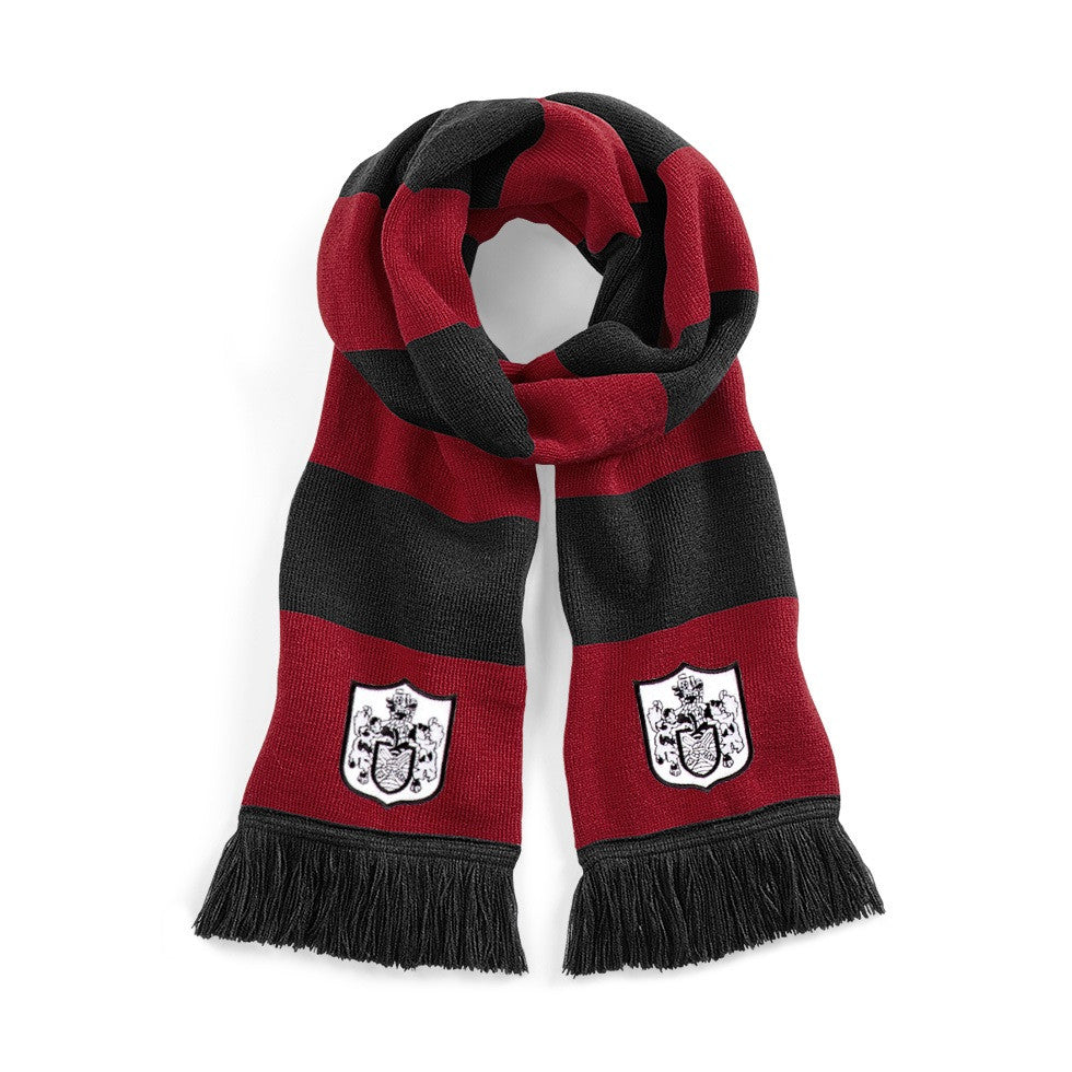 Fulham 1960s Red/Black Scarf - Old School Football