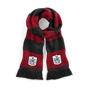 Fulham Retro 1960s Football Scarf Red/Black - Scarf